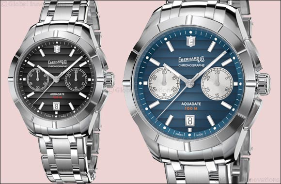 Aquadate Chrono Eberhard & Co. presents the chronograph version of its classic timepiece
