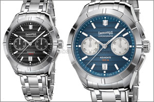 Aquadate Chrono Eberhard & Co. presents the chronograph version of its classic timepiece