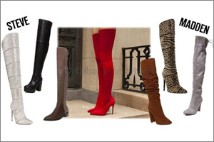It's time to cover up - Knee high boots from Steve Madden