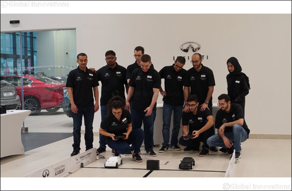 INFINITI Engineering Academy 2019 Middle East winner awarded a life-changing career opportunity with INFINITI and Renault F1® Team