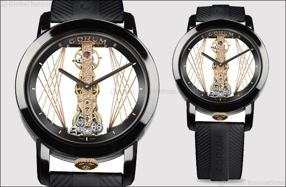 Corum Golden Bridge Round 43 Art Deco'
