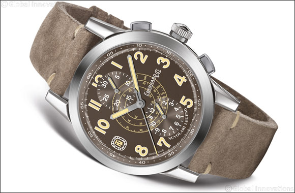 "Nuvolari Legend ""The Brown Helmet""  Eberhard & Co. extends the range dedicated to the great champion"