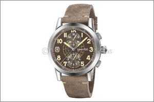 Nuvolari Legend �The Brown Helmet�  Eberhard & Co. extends the range dedicated to the great champion