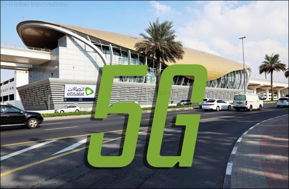Etisalat empowers 'Etisalat Metro station' with 5G