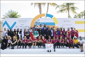 Minister Hessa Buhumaid crowns winners of Dubai Women's Triathlon