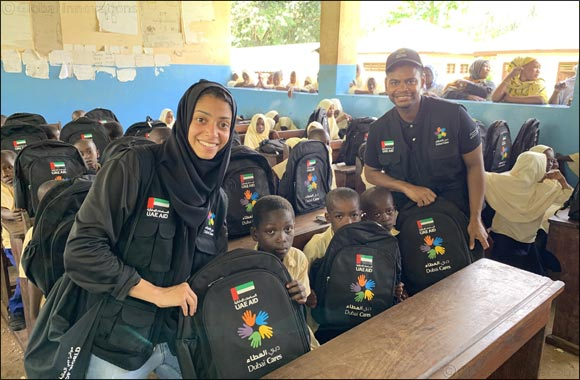 50,000 school bags assembled by the UAE community last Ramadan delivered to underserved children in Senegal and Tanzania