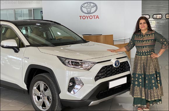 Al-Futtaim Toyota announces the winner of RAV4 Hybrid from its aftersales Electronic Vehicle Health Check competition
