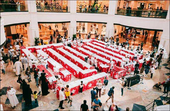 Mall of the Emirates' show-stopping Stollen Charity Cake Sale raises more than AED 105,000 for Emirates Red Crescent