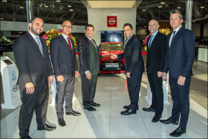 Arabian Automobiles Launches Largest Nissan Retail Concept Showroom in the Region