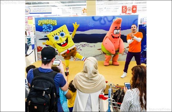 Seas the day: Nickelodeon's SpongeBob SquarePants and Patrick Star to visit Northern Emirates malls