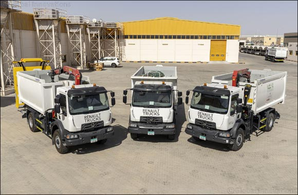 Renault Trucks Signs Major Deal With Leading UAE Waste Management Company