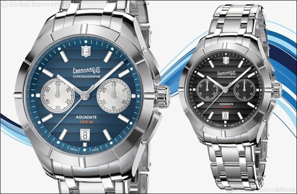 Aquadate Chrono Eberhard & Co. presents the chronograph version of its classic timepiece'