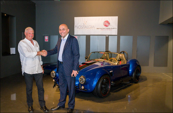 Nostalgia Classic Cars launches state-of-the-art RT3B Black Edition Backdraft Roadster by Backdraft Racing