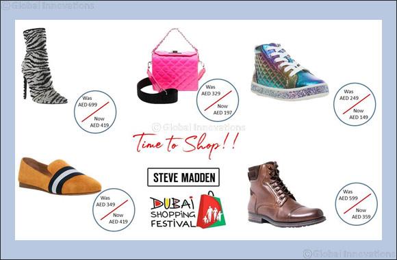 Dubai Shopping Festival Deals at Steve Madden