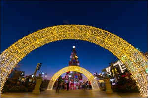 Magical festive fun until January 7th and 7 New Year Celebrations at one family destination