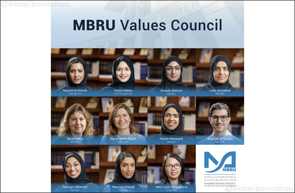 MBRU Develops First-of-its Kind Values Council in UAE to Increase Positivity and Workplace Motivation
