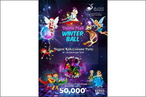 Abu Dhabi to Host the Biggest Kids Costume Party at Dalma Mall