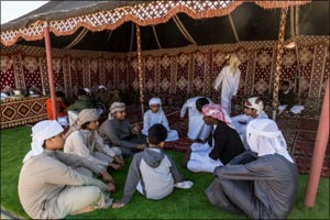 Learning Emirati tradition is more fun at Heritage Winter Camp
