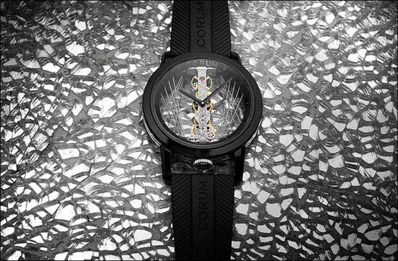 Corum celebrates the festive season with Golden Bridge Round 43 Art Deco