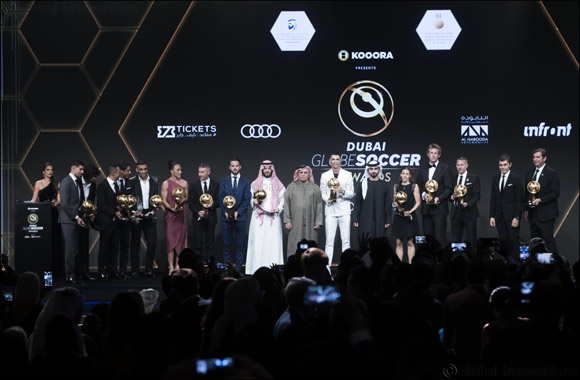 Brightest Football Stars Recognised at Dubai Globe Soccer Awards 2019
