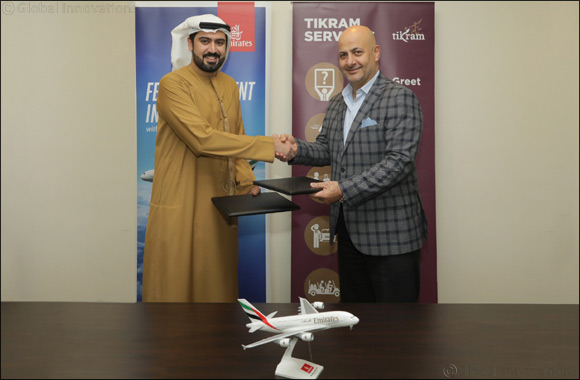Emirates to provide fast-track Tikram services to its customers