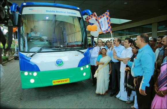 Aster Volunteers flags off its 9th Mobile Medical Service from Aster Medcity, Kochi