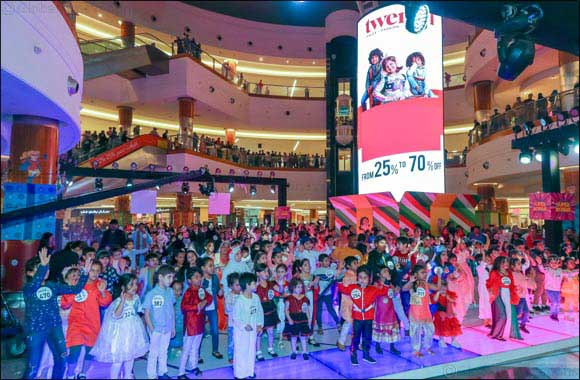 Over 900 Participated in the Biggest Kids Costume Party at Dalma Mall