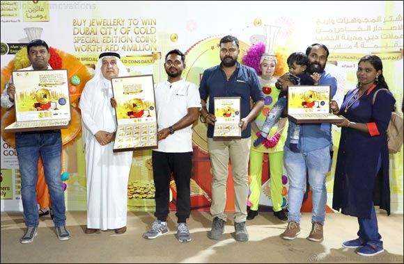 Dubai Jewellery Shoppers Celebrate Big Wins During the 25th Dubai Shopping Festival