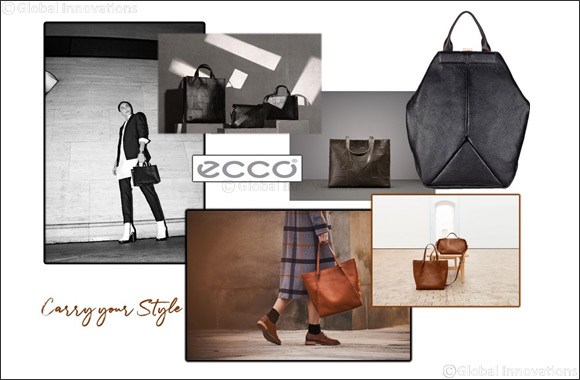 Geometric handbags from ECCO