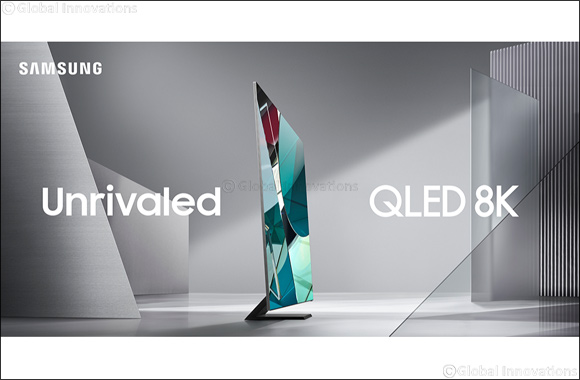 Samsung Electronics Unveils 2020 QLED 8K TV at CES
