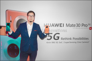 Huawei brings the king of 5G smartphones- HUAWEI Mate 30 Pro 5G to the UAE