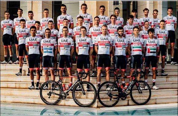UAE Team Emirates Unveil New 2020 Team Jersey