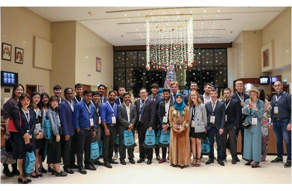 Winter Study Tour at Ajman University Introduces 42 International Students to the UAE's History and Future
