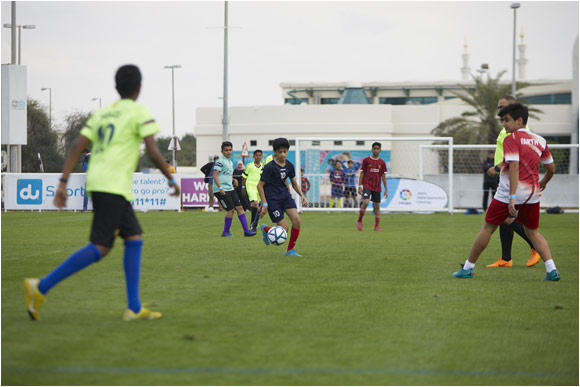 du Football Champions Season 5 Successfully  Kicked off Abu Dhabi Leg