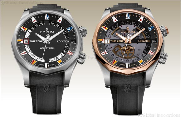 Corum Admiral's Cup Legend 47 Worldtimer'