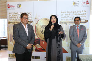 Dubai Jewellers Expect a Steady Sale During the 25th Dubai Shopping Festival Promotion