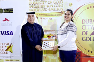 Kanz Jewels proves to be a lucky destination for jewellery shoppers during DSF 2020.