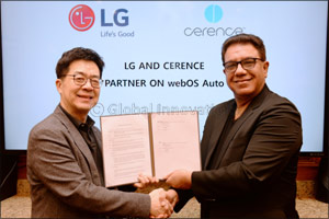 Lg to Join Forces With Cerence on Ai-powered Connected Car Platform