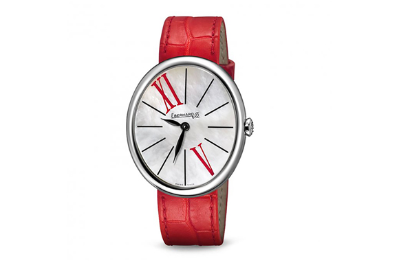 Eberhard & Co. Gilda  timepiece makes an extraordinary Valentine's Day gift
