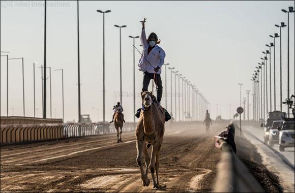 Emirati brothers Al Ketbi dominate preliminary Camel Marathon races