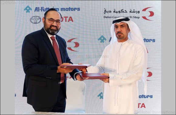 Dubai Government Workshop Signs MoU with Al-Futtaim Toyota