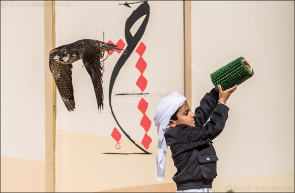 Young Emirati falconers fly high at Fazza Championship for Falconry