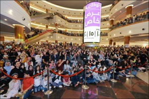 Dalma Mall Induces Nostalgic Moments for a Gathering of Over 15000 Fans With Arabic Folklore Music