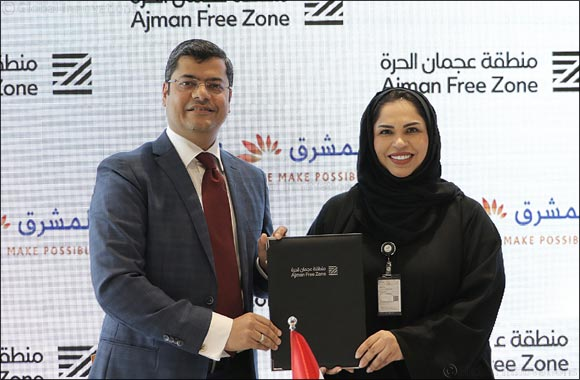 Ajman Free Zone signs MoU with Mashreq Bank to facilitate banking services for businesses