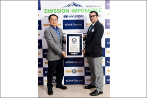 Hyundai KONA Electric Makes it to GUINNESS WORLD RECORDS� Feat