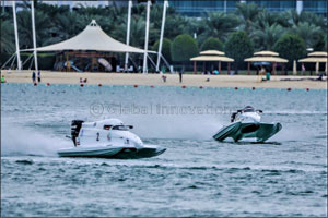 Mohamed Sets Early Pace as Adimsc Launches  UAE Formula 4 Powerboat Series'