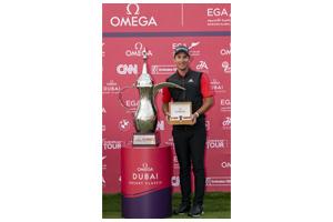 Lucas Herbert wins the 2020 OMEGA Dubai Desert Classic