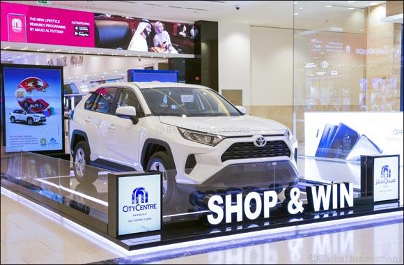 Majid Al Futtaim is gifting three lucky shoppers a new set of wheels
