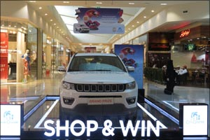 Majid Al Futtaim is gifting three lucky shoppers a new set of wheels
