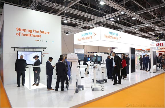 Siemens Healthineers presents solutions supporting digital transformation of healthcare at Arab Health 2020